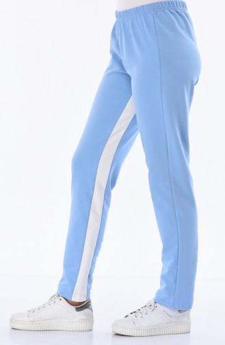 Turquoise Sweatpants 18006-04