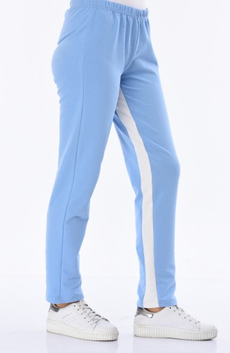 Pantalon Sport Turquoise 18006-04