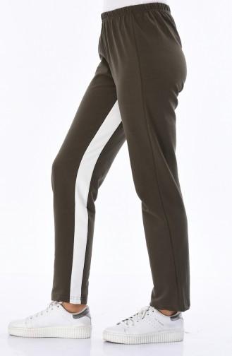 Khaki Jogginghose 18006-05