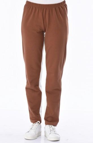 Brown Sweatpants 18006-06