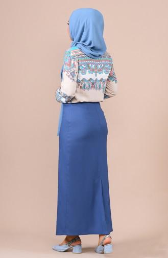 Indigo Skirt 2208-02