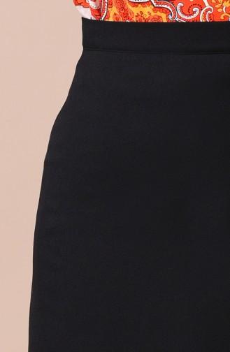 Jupe Crayon 2208-03 Noir 2208-03