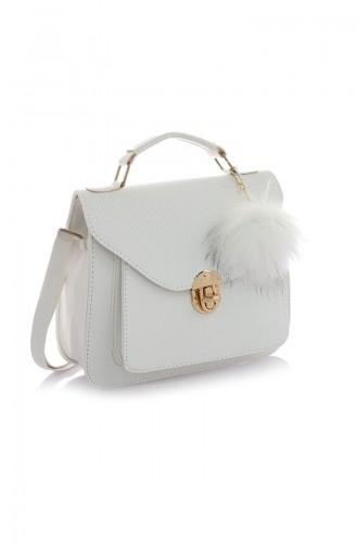 White Shoulder Bag 20Z-21