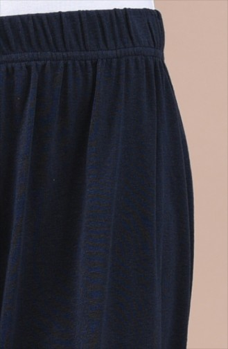 Dark Navy Blue Culottes 7887-04