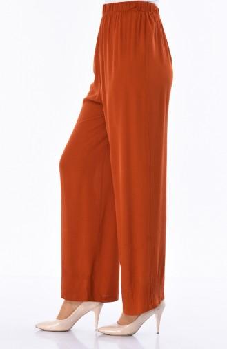 Pantalon Large 25046-01 Brique 25046-01