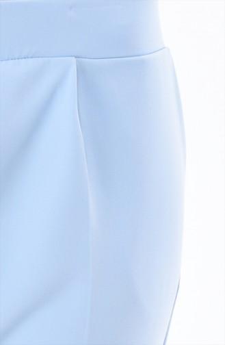 Hose mit Tasche 0881-07 Babyblau 0881-07