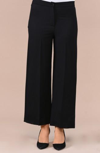 Flared Summer Pants 1108-05 Black 1108-05