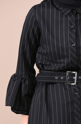 فستان أسود 0708-01