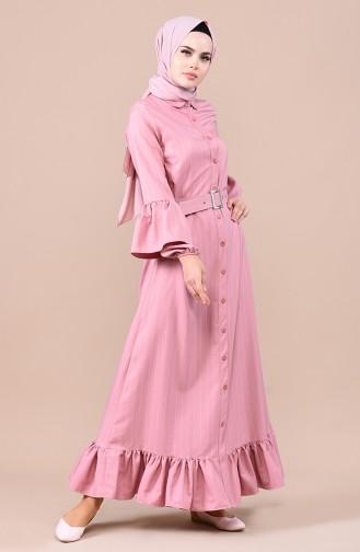 فستان باودر 0708-02