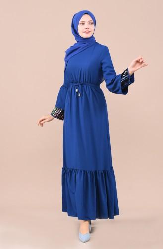 فستان نيلي 5023-03