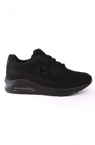 Bayan Spor Ayakkabı 3103Y Siyah Siyah