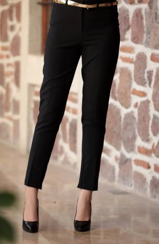 Pantalon a Ceinture 2067-02 Noir 2067-02