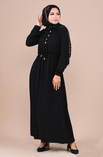 فستان أسود 5024-06