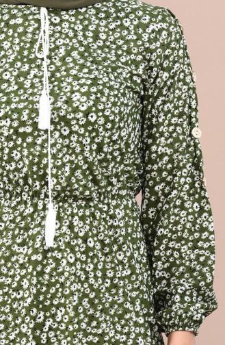 Robe Taille élastique 4244-02 Vert 4244-02