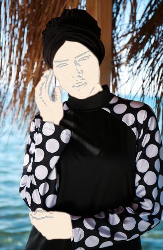Black Swimsuit Hijab 1979-01