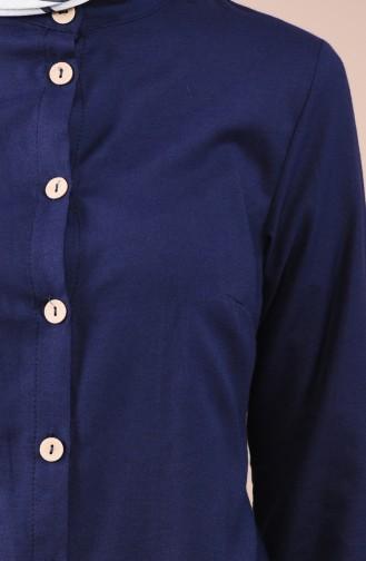 Navy Blue Tunic 1033-03