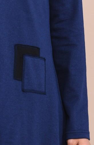 تونيك أزرق كحلي 3065-09