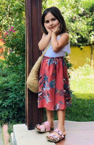 Tobacco Brown Baby and Kids Skirt 53684-01