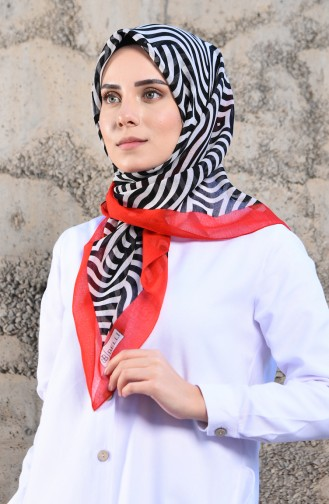 Red Scarf 3402P-05