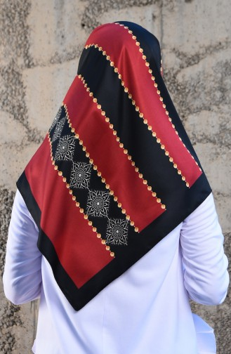 Claret red Scarf 901514-04
