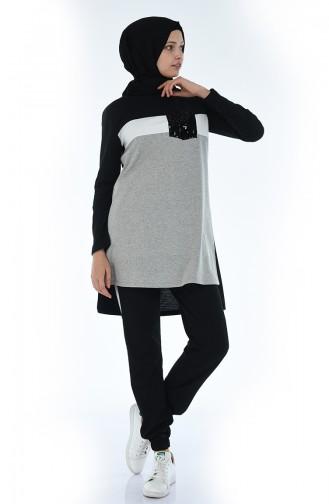 Gray Sweatsuit 9047-01