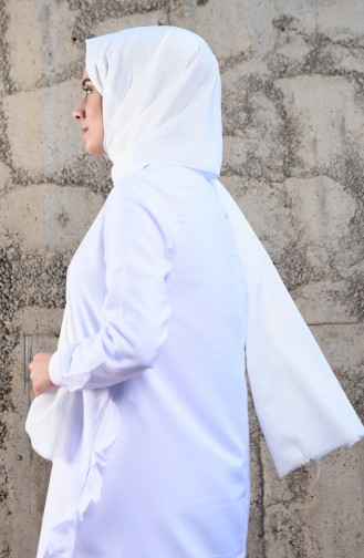 White Sjaal 2325-23