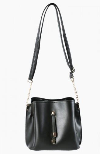 Black Shoulder Bag 3006-01