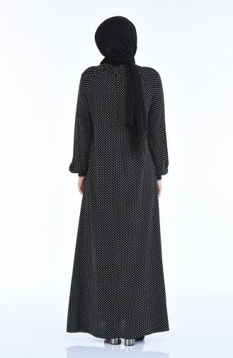 فستان أسود 8347-01