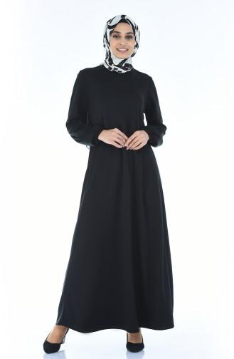 فستان أسود 8370-02