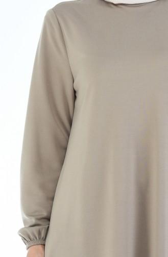 Robe Manches élastique 8370-08 Vison 8370-08