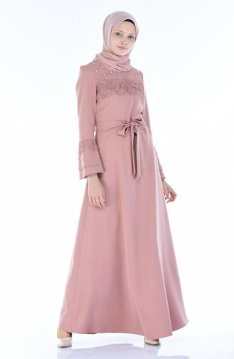 فستان زهري باهت 8Y3830400-02