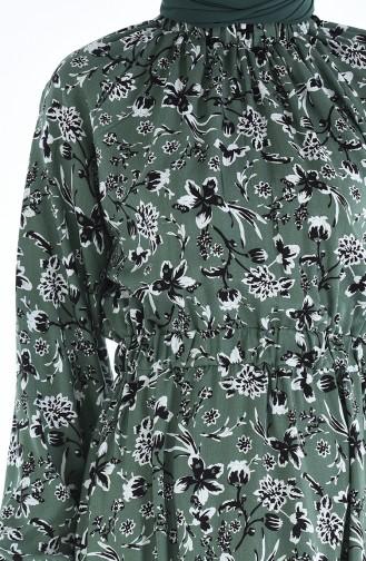 Khaki Dress 1046J-01