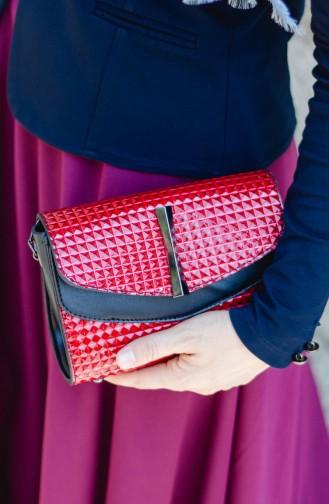 حقيبة كتف أحمر 4004-06