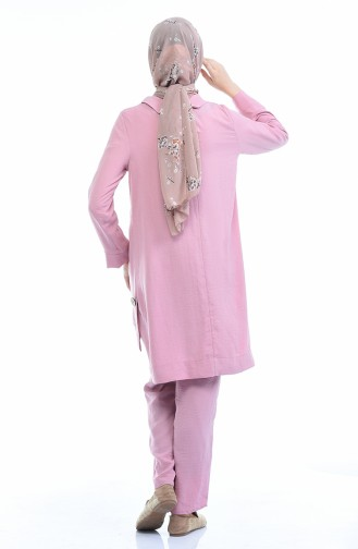 Brooch Tunic Trousers Double Suit 6573-01 Powder 6573-01