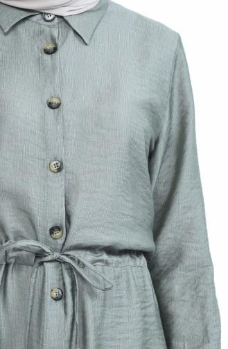 Mint green Dress 4280-07