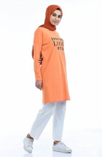 Tunique Sport 7514-14 Orange 7514-14