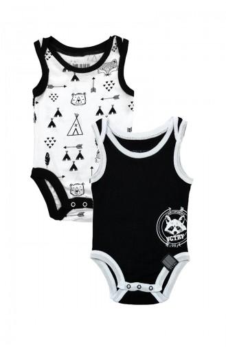 جسم الاطفال أسود 6371