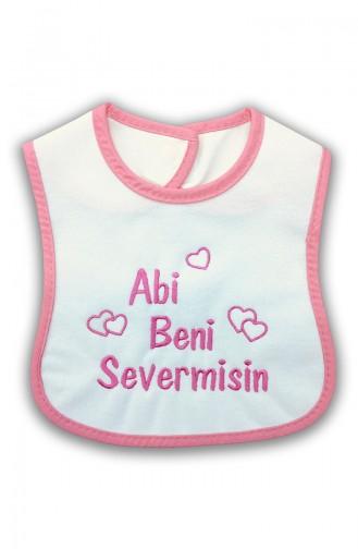 Bavoir Abi Beni Sever Misin E0419 Blanc 0419