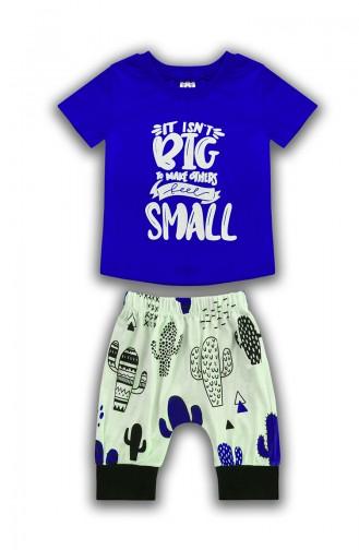 Baby Boy ITS Not Small Detail, 2er Set  E0567 Dunkelblau 0567