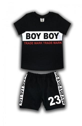 Black Baby & Kid Suit 0574