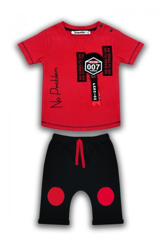 Red Baby & Kid Suit 0629