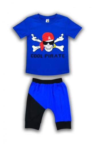 Saxon blue Baby & Kid Suit 0630
