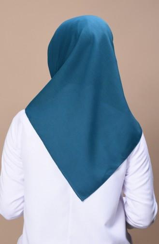وشاح أزرق زيتي 19050-10