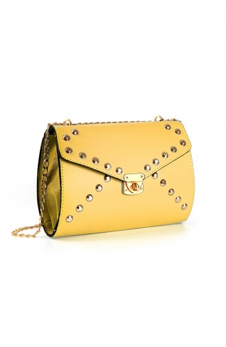 Yellow Shoulder Bag 10646SA