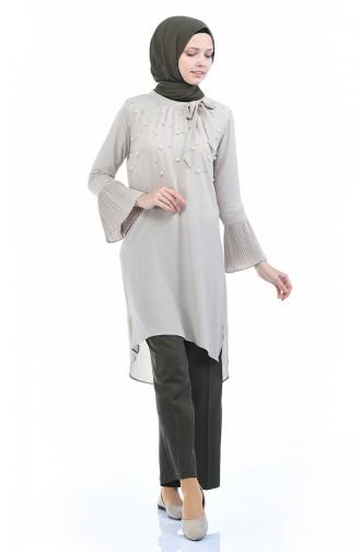 Pantalon Large avec Poches 1954-01 Khaki 1954-01