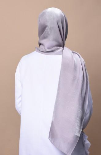 Helle Abendkleid Schal  2330-06 Grau Weiss 2330-06