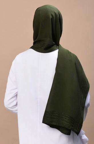 Dark Green Shawl 13084-05