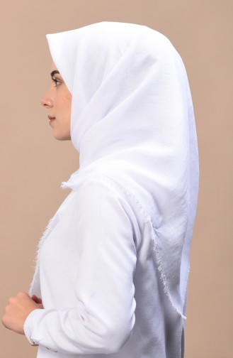 White Shawl 13085-07
