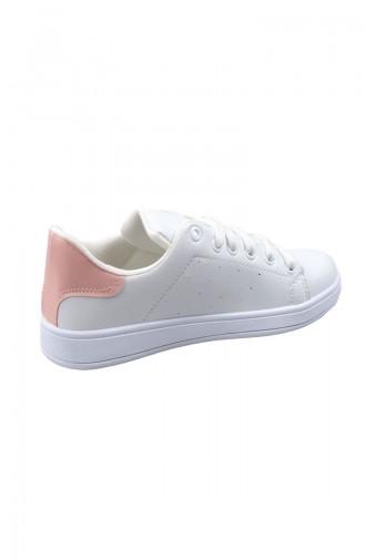 Sportmax Chaussures Sport Pour Femme 200 Blanc Rose 200