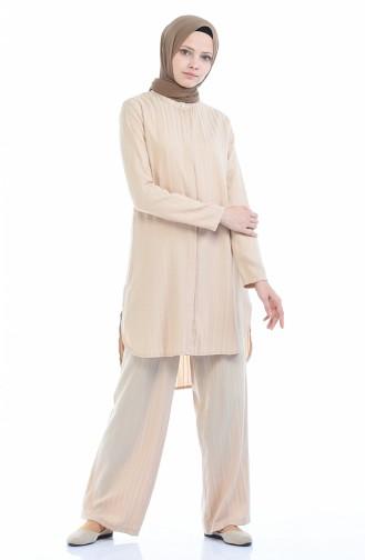 Beige Suit 9001-07